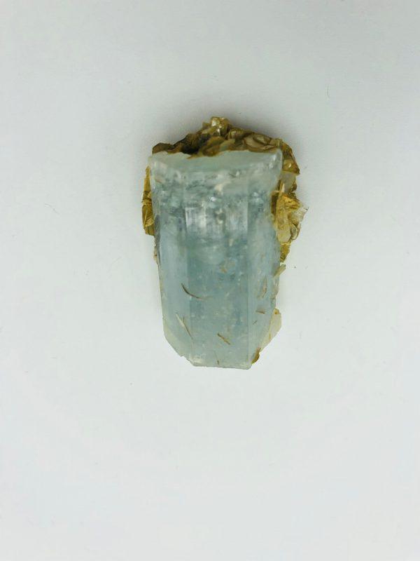 Aquamarine crystal from Nagar Valley, Pakistan