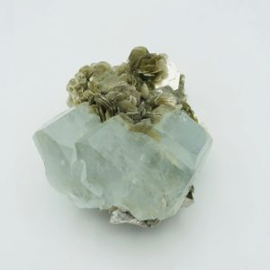Aquamarine crystal from Nagar Valley, Pakistan