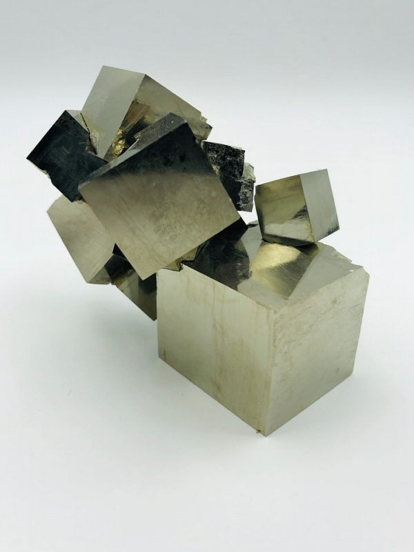 Extreme large pyrite cluster from Navajun