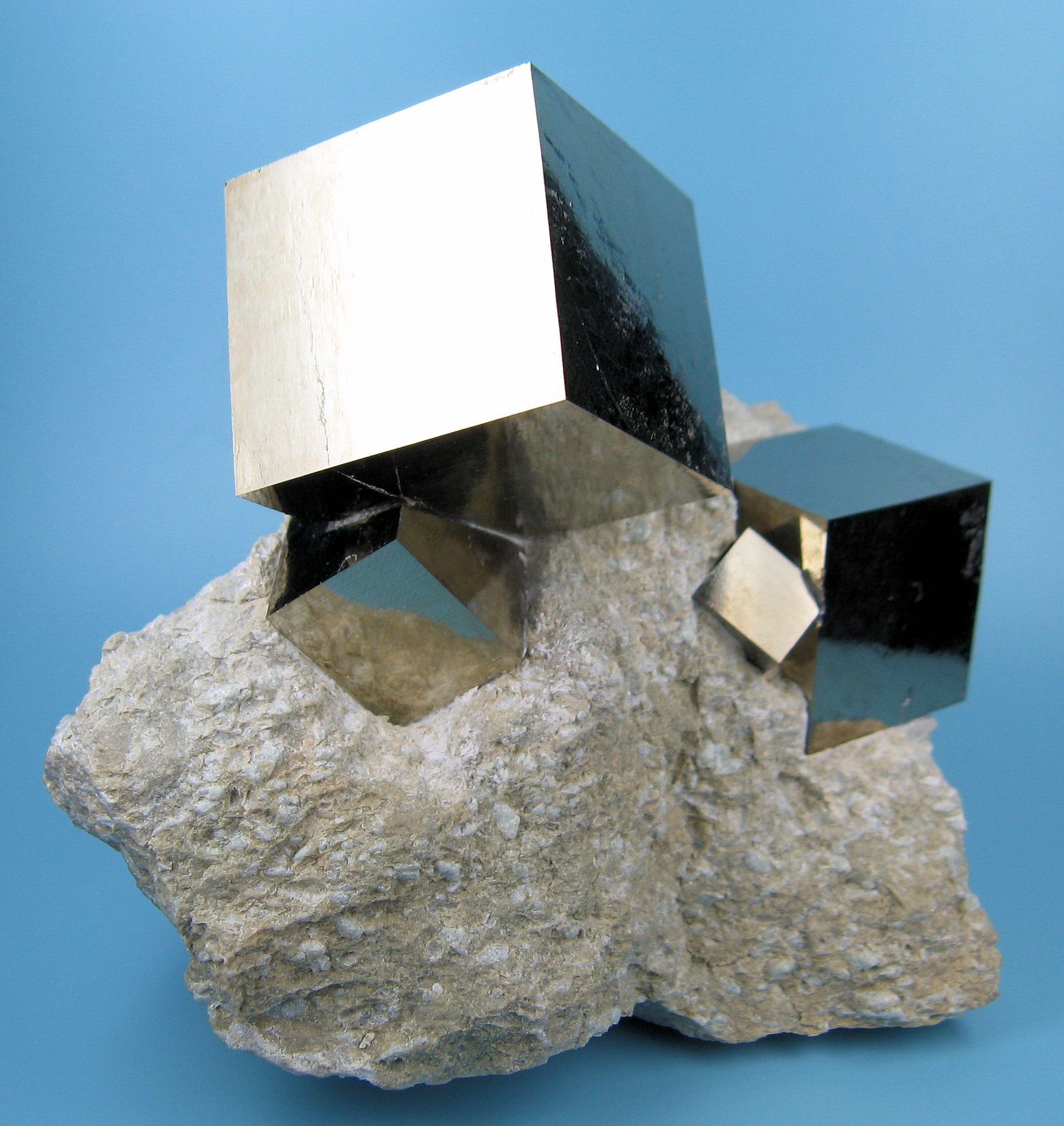 Wonderful pyrite from Navajún Spain