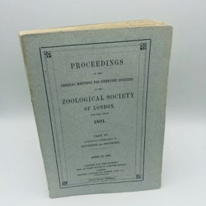 Robert Hudson - Proceedings of the scientific meetings of the Zoological society of London - 1891