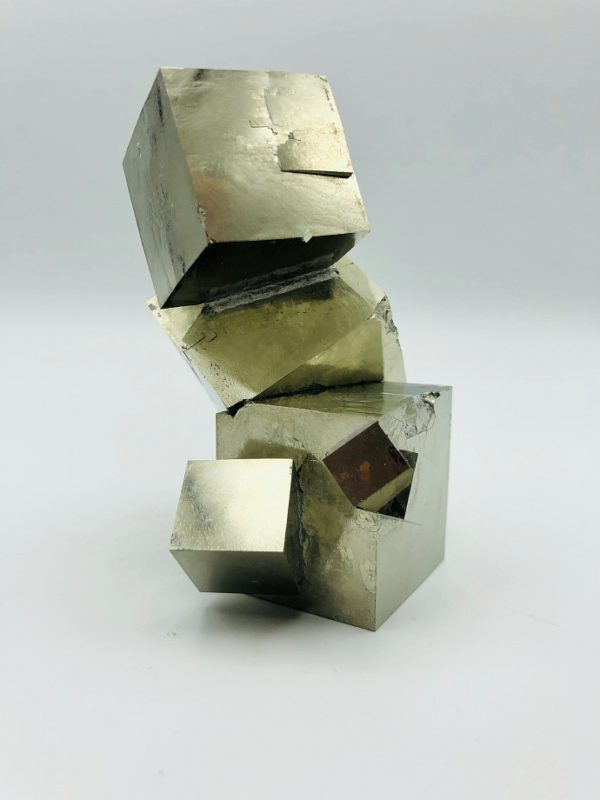 Unique Pyrite cluster from Navajun, Spain