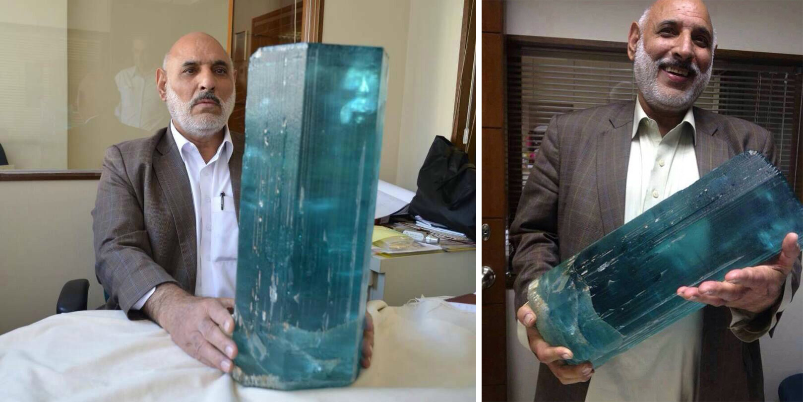 The worlds largest Aquamarine - Natural History Curiosities