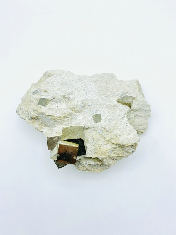 Pyrite Cluster on matrix from Navajun, Spain