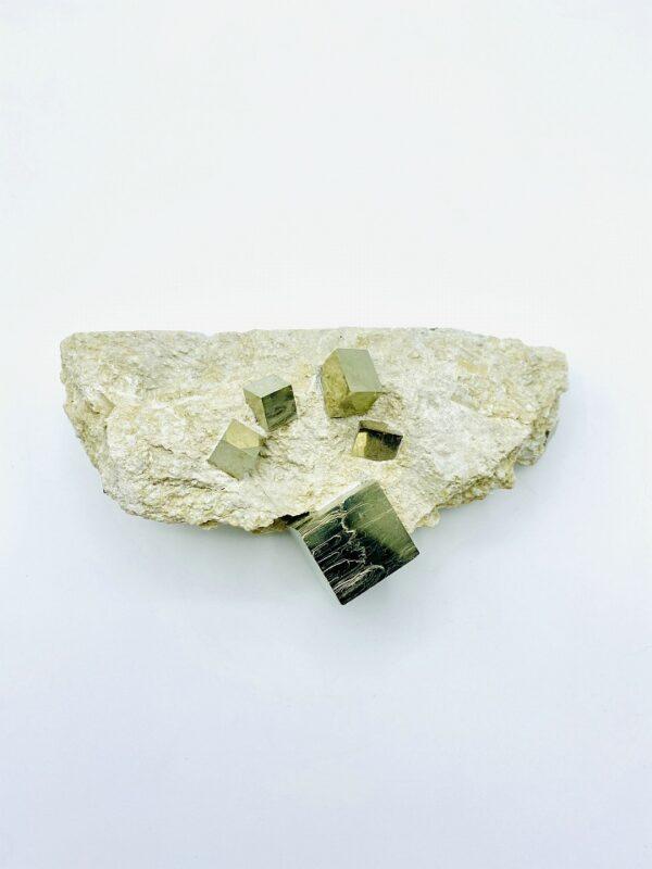 Beautiful Pyrite matrix from Navajun, Spain