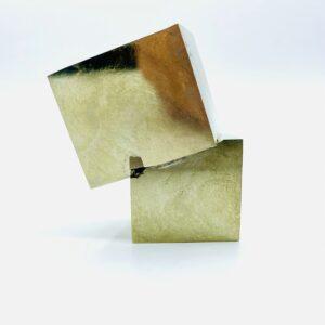 Medium Pyrite cluster cubes from Navajun, Spain