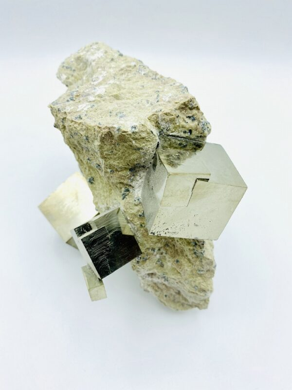 Exceptional large Pyrite matrix from Navajun, Spain