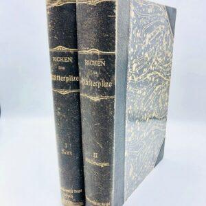 Adalbert Ricken - Die Blätterpilze (Agaricaceae), 2 vols - 1915
