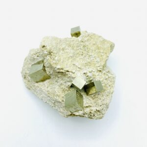 Pyrite on matrix from Navajun, Spain