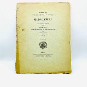 Henri de Saussure - Histoire naturelle des myriapodes. Atlas - 1897