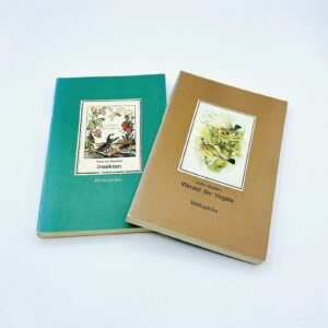 2 pocket books from Bibliophilia (John Gould & Rosel von Rosenhof)