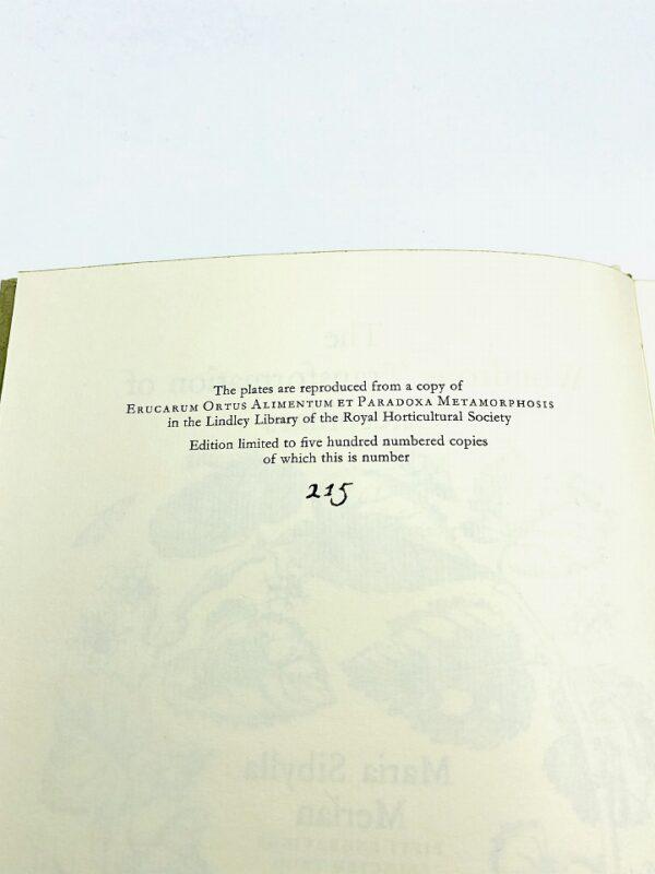 The Wondrous Transformation of Caterpillars (Merian, Maria Sibylla), 1978