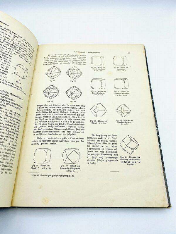 Unique test print of Sauer Dr. A. - Mineralkunde - 1907