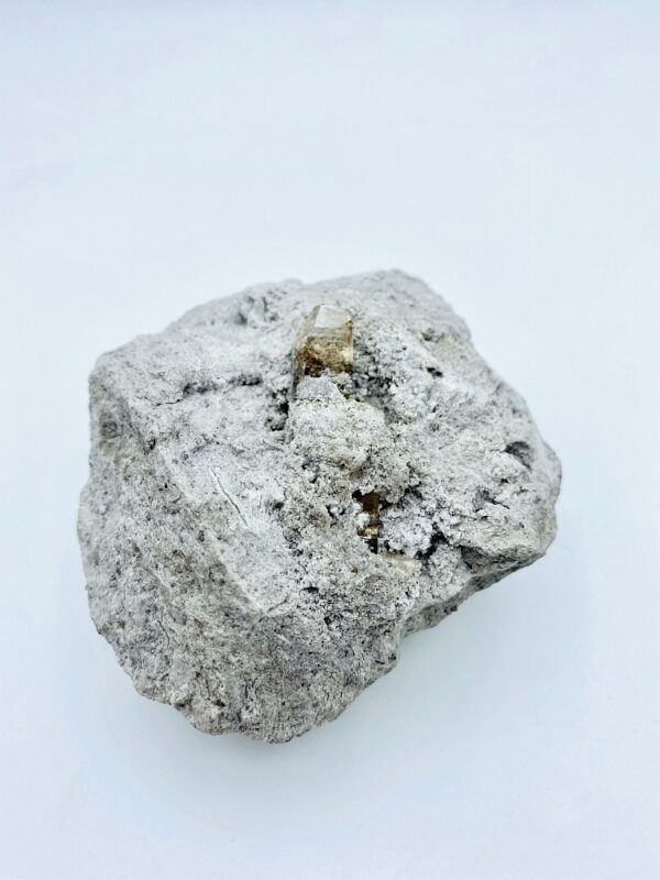 Large single Topaz crystal in a matrix from Thomas Range, Utah